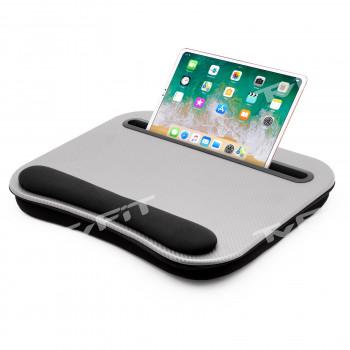 Podložka pod notebook, tablet a smartphone, Lapdesk Steel, Cuculo