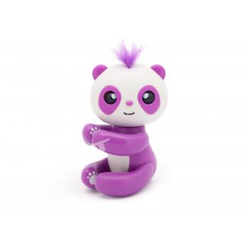 Kouzelná panda na prst - interaktivní hračka, fialová