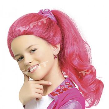 Paruka Lollipopz růžová