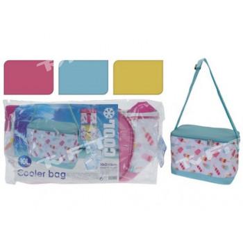 taška chladicí 10l 30x21x16cm - mix barev