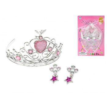 Korunka pro princeznu + náušnice