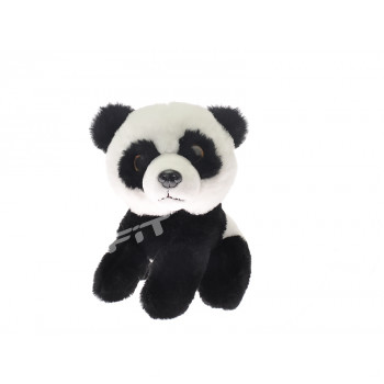 Panda plyšová 15 cm sedící