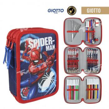 Penál 3 patrový Spiderman plný