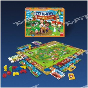 Dino Hra Cestujeme po hradech a zámcích
