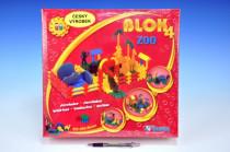 Stavebnice Blok 4 ZOO plast
