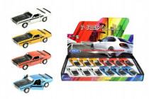 Auto Welly 1970 Dodge Challenger T/A kov 12cm volný chod - mix variant či barev