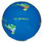 Spokey MBALL fotbalový míč modro-zelený vel. 5