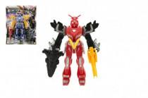 Robot figurka plast 15cm - mix barev