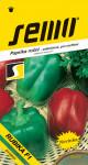 Semo Paprika zeleninová sladká F1 - Rubika F1 rychl 15s