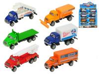 Auto nákladní 9,5 cm kov 1:64 volný chod - mix variant či barev
