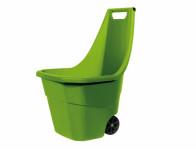 Vozík zahradní LOAD GO plastový zelený 55l 50x61x84cm