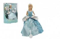 Panenka kloubová Anlily plast zimní princezna Ledové království 28cm