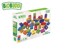 BiOBUDDi stavebnice Learning To Build Young Ones 40 ks
