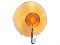 háček s přísavkou 4cm plastový + kov. (4ks) - mix barev