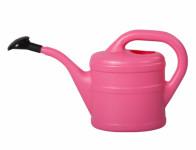 Konvička s růžicí plastová růžová 1l