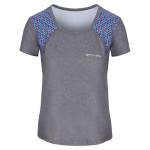 Spokey RAIN, fitness triko/T-shirt, krátký rukáv, šedé, vel. S