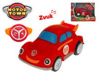 R/C Volkswagen Beetle červený 18 cm 2,4 GHz na baterie 4 zvuky