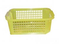 košík 37x26x14cm (mřížka) plastový, BÍ