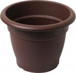 Plastia obal Muškát - čokoládový 14 cm