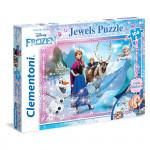 Puzzle Klenoty Ledové Království 104 dílků
