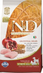 N&D Low Grain Dog Senior S/M Chicken & Pom. 2,5 kg