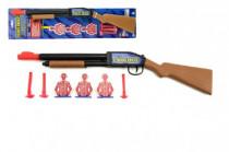 Pistole/Puška na přísavky plast 49cm