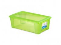 box úložný SCATOLA 5l, 32,5x19x11cm s víkem plastový, ZE