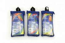 Drak létající nylon 60x51cm v plastovém sáčku - mix variant či barev