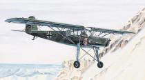 Model Fieseler FI-156 Storch 13,8x19,6cm