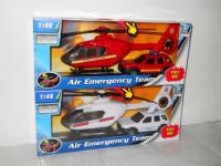1:48 záchranáři auto a vrtulník - mix variant či barev