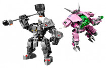 Lego Overwatch 75973 D.Va a Reinhardt