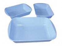 miska obalovací plastová, sada 3díl. - mix barev