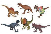 Gumový dinosaurus 17-22cm - mix variant či barev
