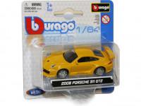 Auto Bburago kov 8cm 1:64 - mix variant či barev