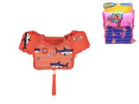 Vesta plovací s rukávky (18-30 kg) - mix barev