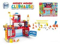 Mickey Mouse Clubhouse hasičská stanice + 2 figurky plast na baterie se světlem a zvukem