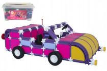 Stavebnice Seva pro holky 2 Jumbo plast 1140ks v plastovém boxu