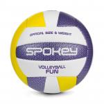 Spokey FUN IV volejbalový míč žluto-fialový vel. 5