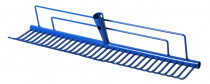 Hrábě trávníkové - šířka 70 cm - modrá