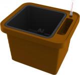 Plastia truhlík samozavlažovací Berberis Uno - terakota 45 cm