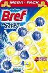 Wc čistič Bref 4 Formula Lemon závěs 3x50g kuličky