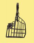 Náhubek kovový ovčáská pl. - fena i pes, gumoplast 140 x 160 x 140 mm
