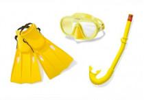 Potápěčská sada brýle+šnorchl+ploutve 8+