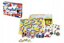 Vzdělávací hra English Play and Learn v krabici 33x23cm