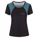 Spokey RAIN, fitness triko/T-shirt, krátký rukáv, černé, vel. M