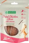 Nature's Protection Dog Snack kuřecí proužky+sezam 80 g - VÝPRODEJ