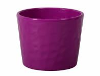 Obal na květník NEAPOL keramický fialový lesklý d15x13cm