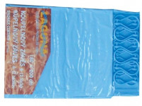 závěs koupel. UNI 180x180cm PVC + 12 háčků - mix barev