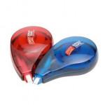 Ergo Tape korekční strojek 8 m, 12 ks v bal., červený a modrý mix