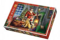 Puzzle koláž Vánoce Čas dárků 1000 dílků